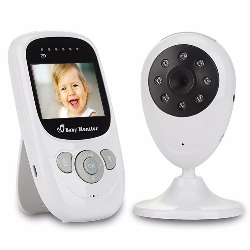 Audio Video Baby Monitor C mara 2 4 pulgadas LCD pantalla con IR de visi n 6