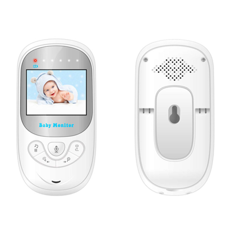 Babykam 2 4 pulgadas Doppler fetal ni era video ir visi n nocturna Intercom Lullabies temperatura 1