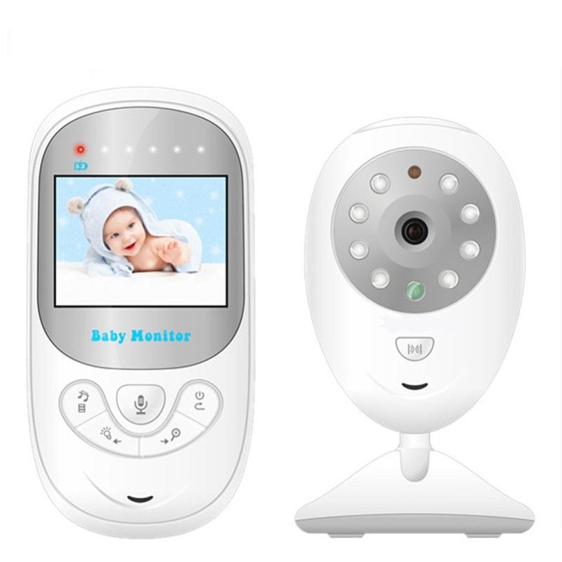 Babykam 2 4 pulgadas Doppler fetal ni era video ir visi n nocturna Intercom Lullabies temperatura 7