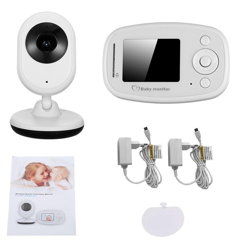 Babykam babyfoon C mara 2 4 monitor del beb audio zoom ir Night Light Vision Lullaby 4