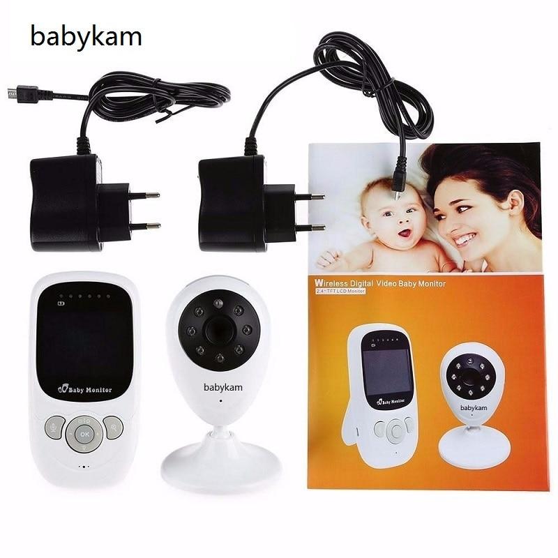 Babykam beb Monitores video Nanny 2 4 pulgadas LCD ir visi n nocturna 2 manera hablar 5