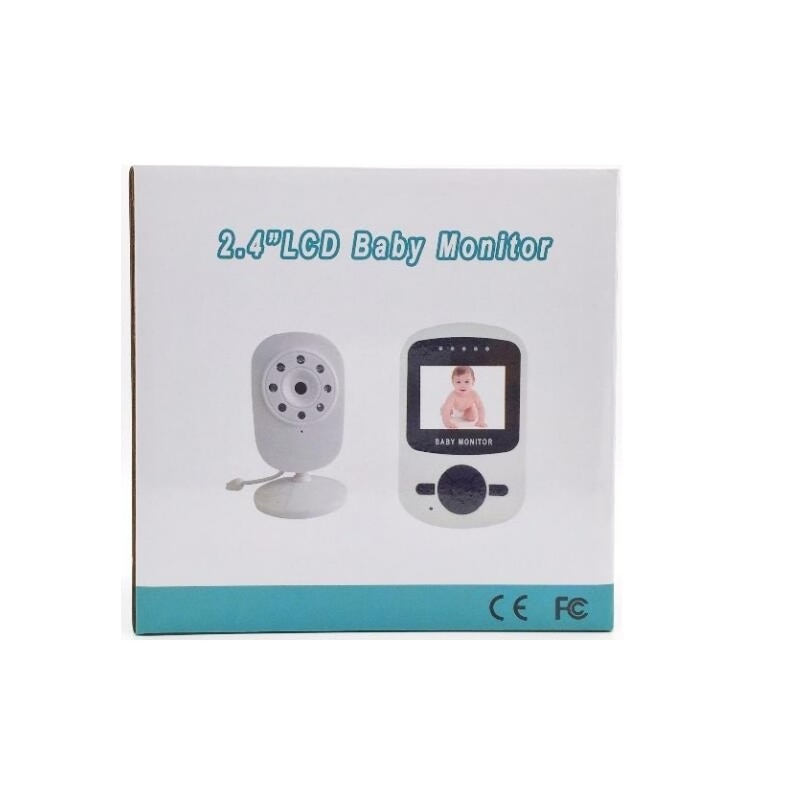 Babykam beb monitor inal mbrico monitores de 2 4 pulgadas LCD IR noche visi n 3 5