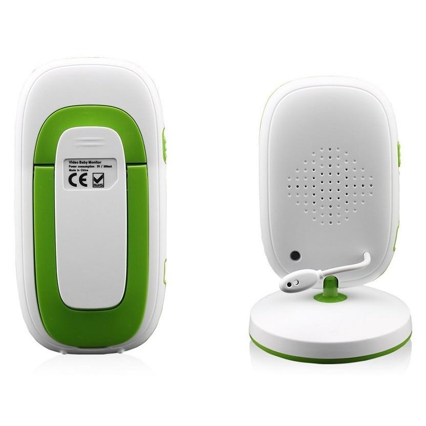 Babykam beb tel fono video Nanny 2 0 pulgadas LCD ir visi n nocturna temperatura Monitores 1