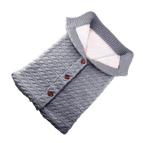 Puseky beb sacos de dormir algod n tejido sobre para Reci n Nacido footmuff para cochecito 2.jpg 640x640 2