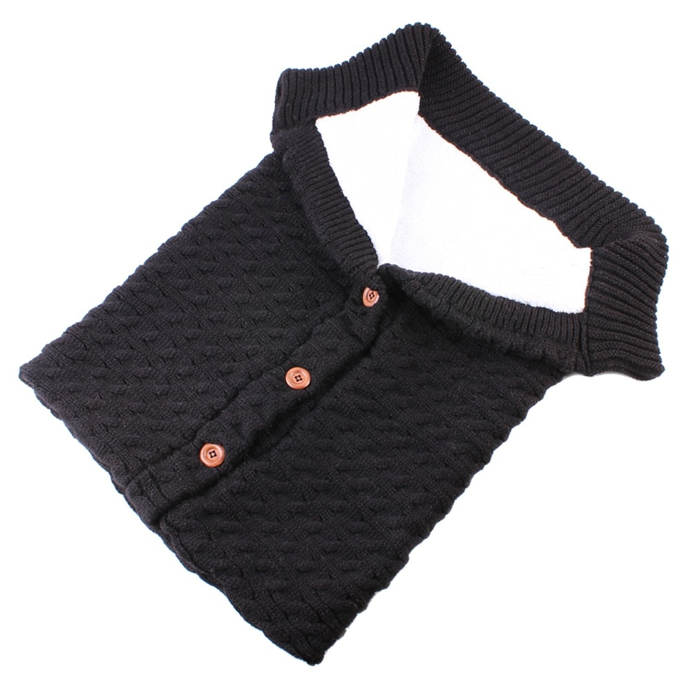 Puseky beb sacos de dormir algod n tejido sobre para Reci n Nacido footmuff para cochecito 3
