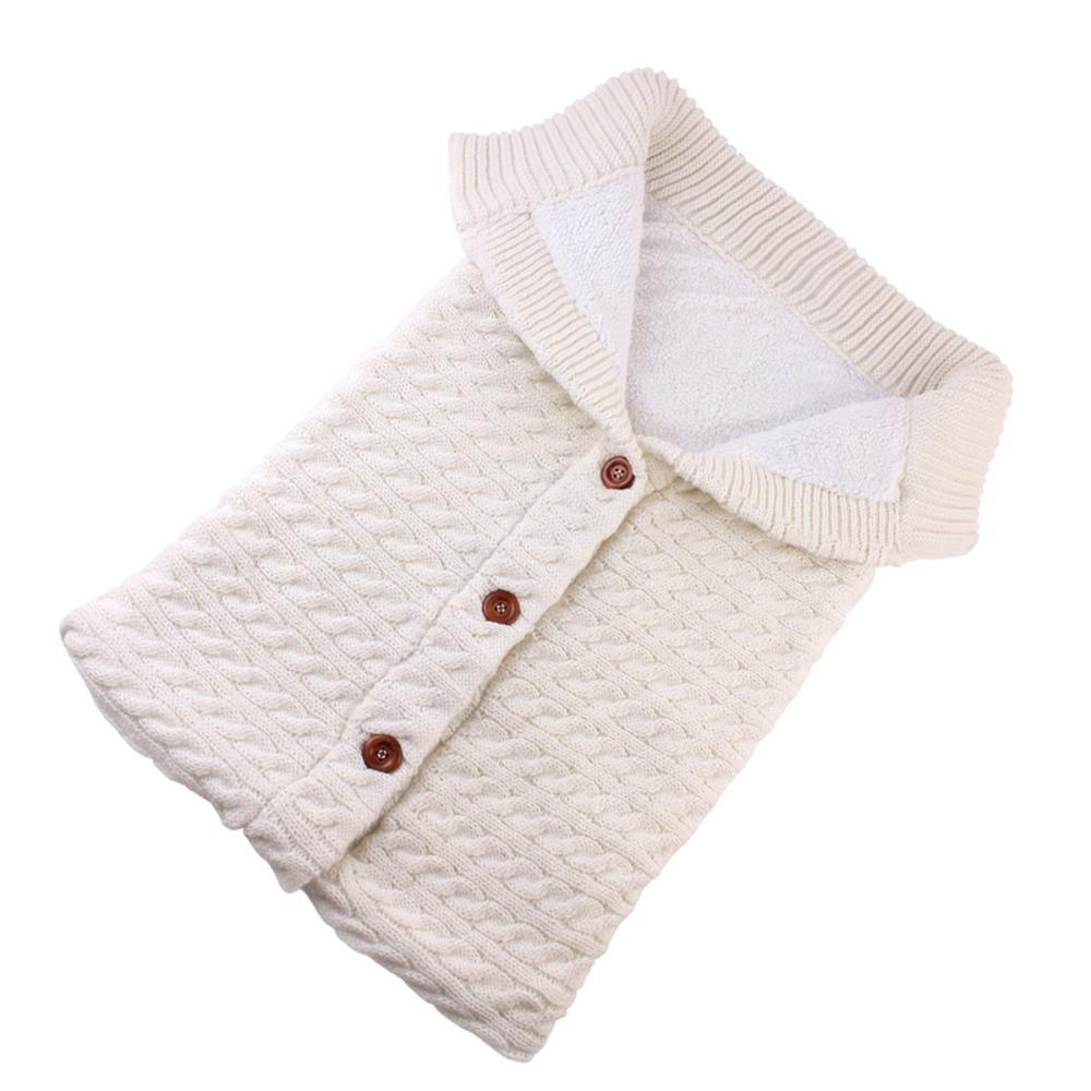 Puseky beb sacos de dormir algod n tejido sobre para Reci n Nacido footmuff para cochecito 4