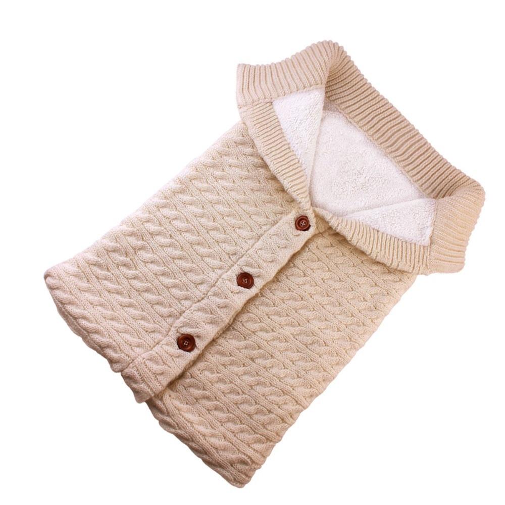 Puseky beb sacos de dormir algod n tejido sobre para Reci n Nacido footmuff para cochecito 5