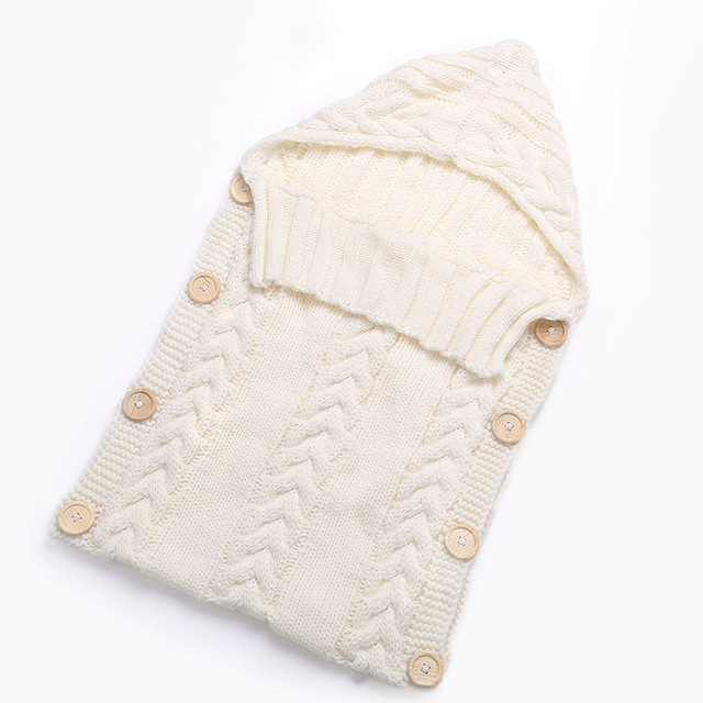 Sobre para reci n nacidos beb ni as ni os saco de dormir capullo bot n 5.jpg 640x640 5