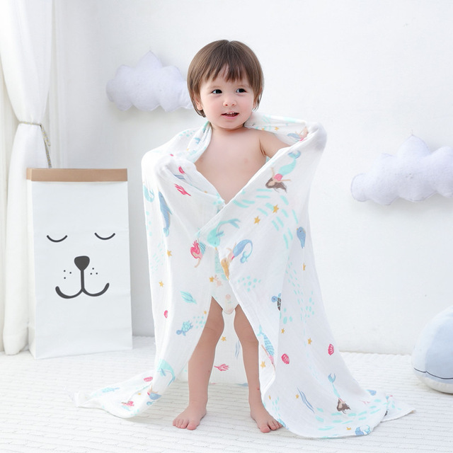 100 bamb 30 algod n beb Swaddle Wraps algod n beb muselina mantas reci n nacido 35.jpg 640x640 35