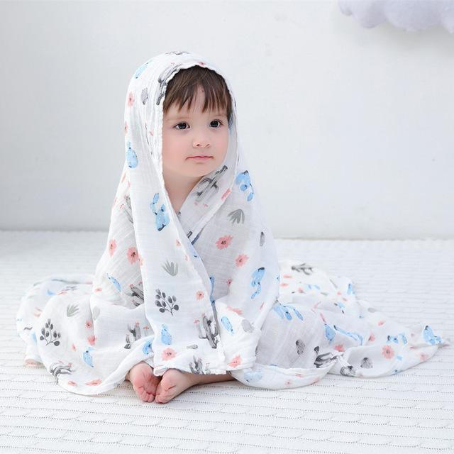 100 bamb 30 algod n beb Swaddle Wraps algod n beb muselina mantas reci n nacido 36.jpg 640x640 36