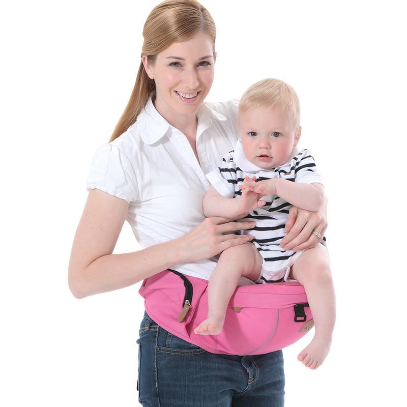 2018 nuevo beb portador de beb cintur n Hipseat infantil beb Hip asiento beb tirantes 1