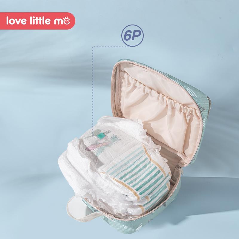 Bolsa de pa ales de beb port til Love Little Me bolsa de maternidad impermeable pa 2