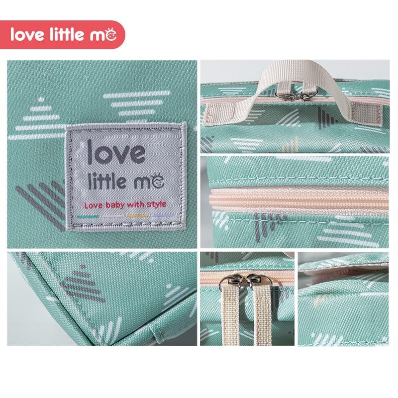 Bolsa de pa ales de beb port til Love Little Me bolsa de maternidad impermeable pa 3