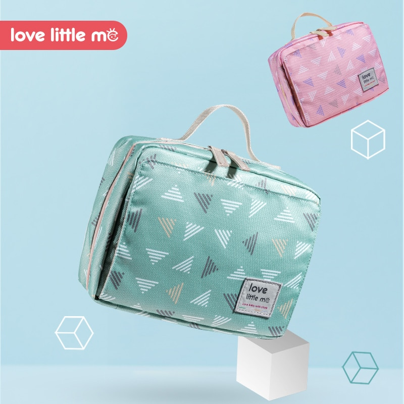Bolsa de pa ales de beb port til Love Little Me bolsa de maternidad impermeable pa