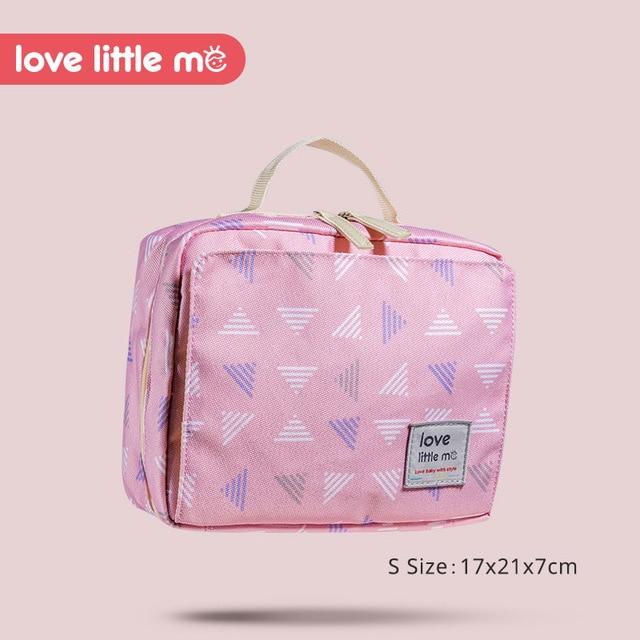 Bolsa de pa ales de beb port til Love Little Me bolsa de maternidad impermeable
