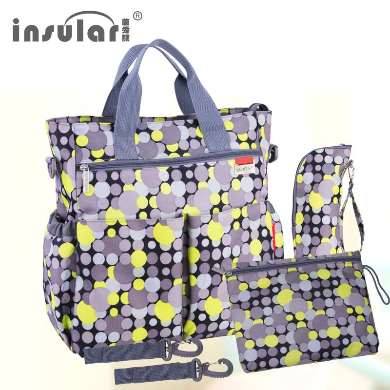 Bolsa de pa ales multifuncional para beb a la moda bolsa de pa ales impermeable para 11