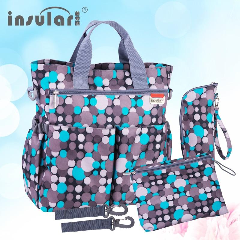 Bolsa de pa ales multifuncional para beb a la moda bolsa de pa ales impermeable para 9