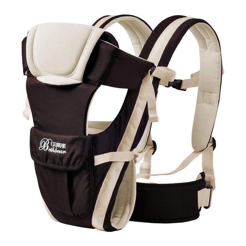 Bolso de canguro para beb de 0 30 meses ergon mico para ni os mochila con 1