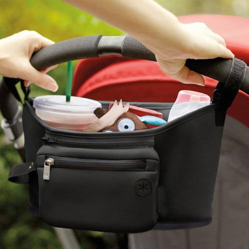 Bolso para cochecito de beb pa al bolso para mam carrito cesta colgante organizador de almacenamiento 1