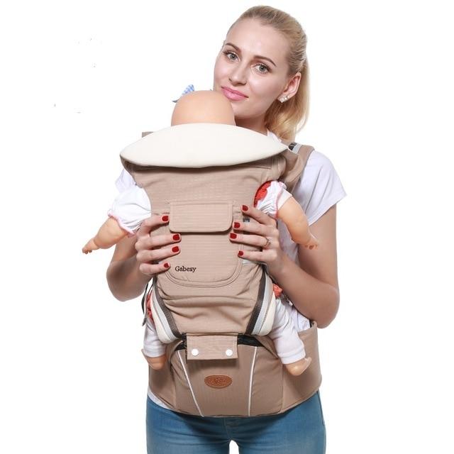 Gabesy portabeb s Mochila De Transporte ergon mico para reci n nacido y prevenir piernas tipo 3.jpg 640x640 3