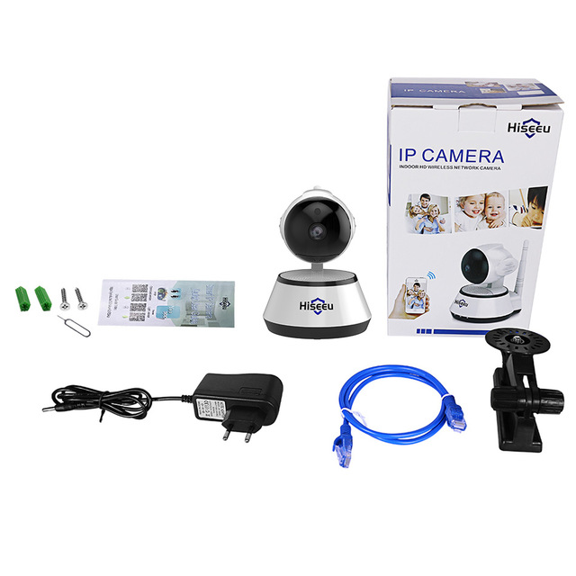 Hiseeu 1080 p c mara IP 2MP Wi Fi Wireless cctv c mara de seguridad