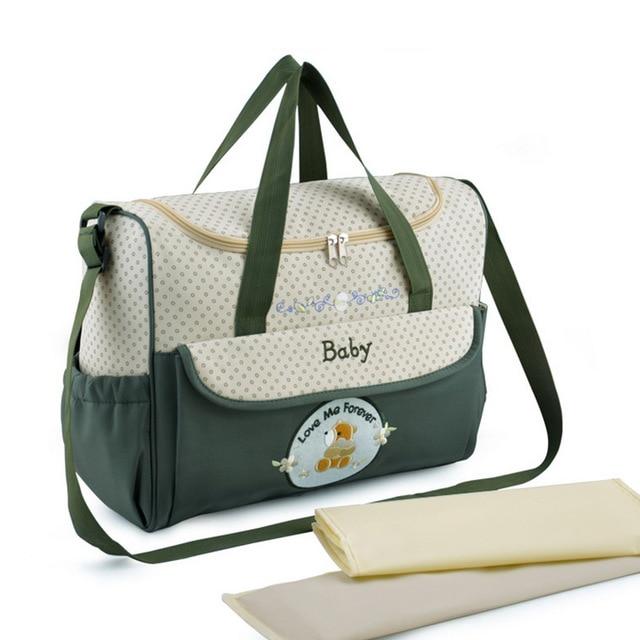 Insular mam beb bolsa multifuncional beb pa al cambiante hombro bolso de maternidad para