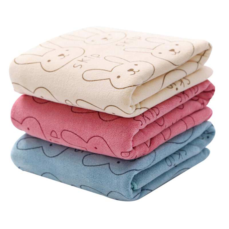 Lindas mantas de dibujos animados para beb s espesar abrigo de conejo para beb reci n