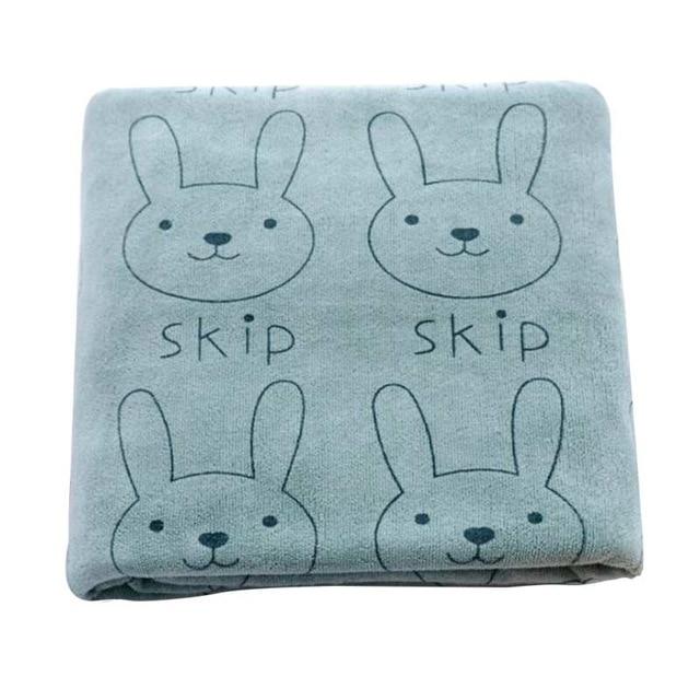 Lindas mantas de dibujos animados para beb s espesar abrigo de conejo para beb reci