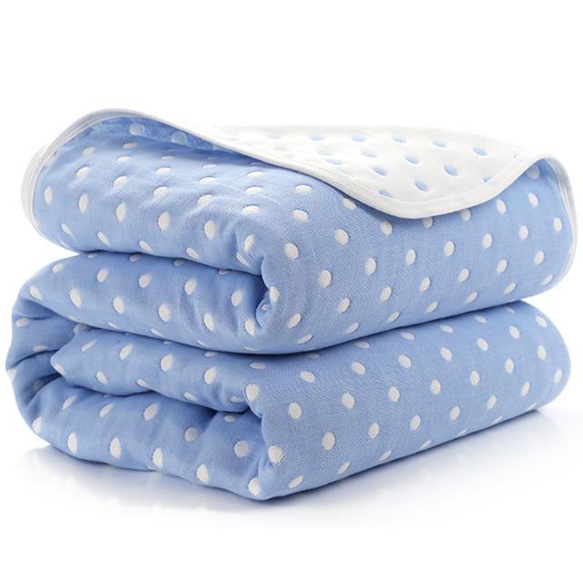 Manta de beb de 110 cm de algod n de muselina 6 capas gruesas para reci 6.jpg 640x640 6