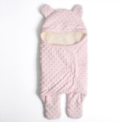 Manta de beb de lana beb reci n nacido Swaddle Wrap suave invierno ropa de cama 2.jpg 640x640 2