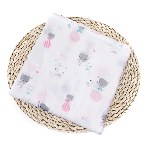 Puseky Flamingo Rosa frutas impresi n mantas muselina del beb cama infantil Swaddle toalla para reci 1.jpg 640x640 1