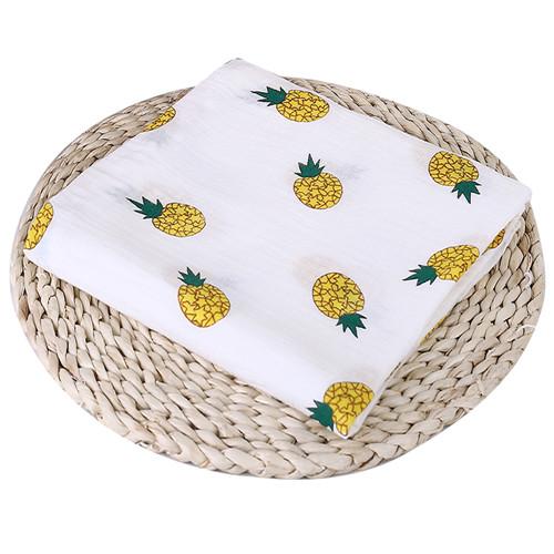 Puseky Flamingo Rosa frutas impresi n mantas muselina del beb cama infantil Swaddle toalla para reci 13.jpg 640x640 13