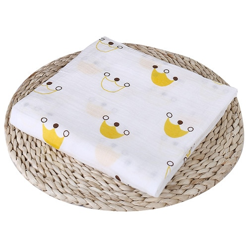 Puseky Flamingo Rosa frutas impresi n mantas muselina del beb cama infantil Swaddle toalla para reci 19.jpg 640x640 19