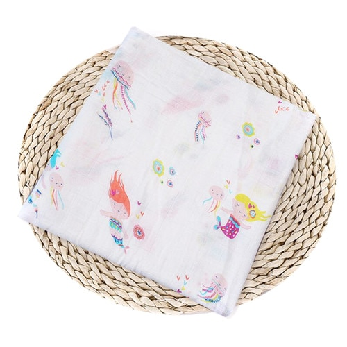 Puseky Flamingo Rosa frutas impresi n mantas muselina del beb cama infantil Swaddle toalla para reci 2.jpg 640x640 2