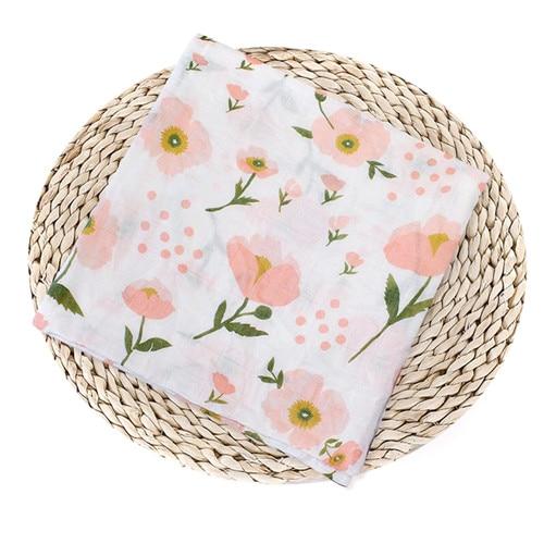Puseky Flamingo Rosa frutas impresi n mantas muselina del beb cama infantil Swaddle toalla para reci 5.jpg 640x640 5