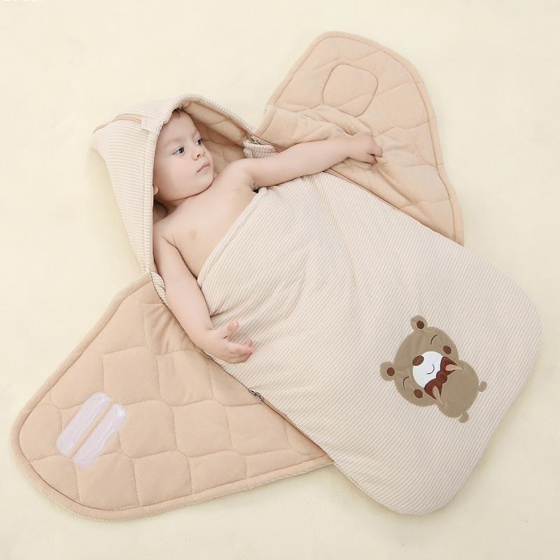 Sobre para beb reci n nacido bolsas de dormir de gran tama o de invierno como 5