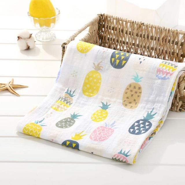 Toallas de algod n muselina para beb para Reci n Nacido mantas de beb Toalla de 10.jpg 640x640 10