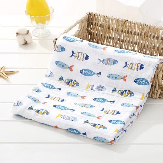 Toallas de algod n muselina para beb para Reci n Nacido mantas de beb Toalla de 11.jpg 640x640 11