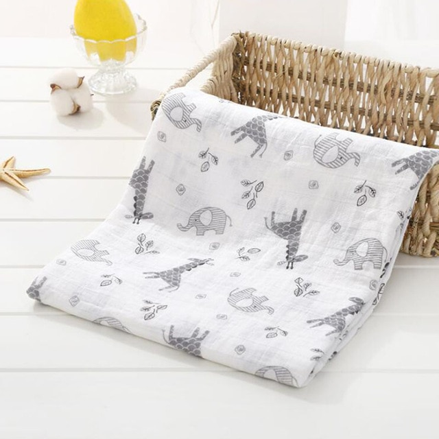Toallas de algod n muselina para beb para Reci n Nacido mantas de beb Toalla de 12.jpg 640x640 12