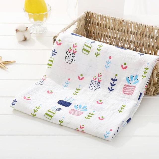 Toallas de algod n muselina para beb para Reci n Nacido mantas de beb Toalla de 13.jpg 640x640 13