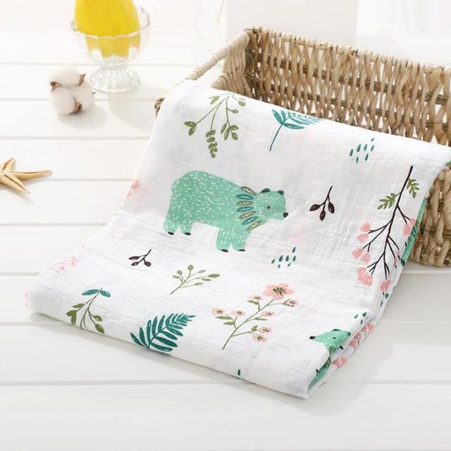 Toallas de algod n muselina para beb para Reci n Nacido mantas de beb Toalla de 14.jpg 640x640 14