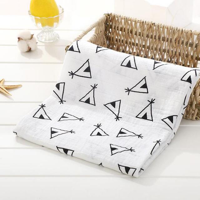 Toallas de algod n muselina para beb para Reci n Nacido mantas de beb Toalla de 16.jpg 640x640 16