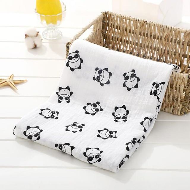 Toallas de algod n muselina para beb para Reci n Nacido mantas de beb Toalla de 18.jpg 640x640 18