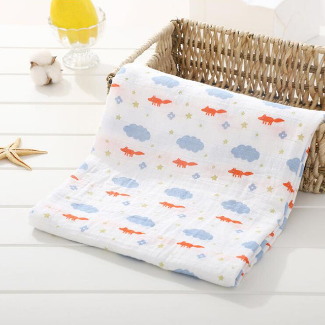 Toallas de algod n muselina para beb para Reci n Nacido mantas de beb Toalla de 19.jpg 640x640 19