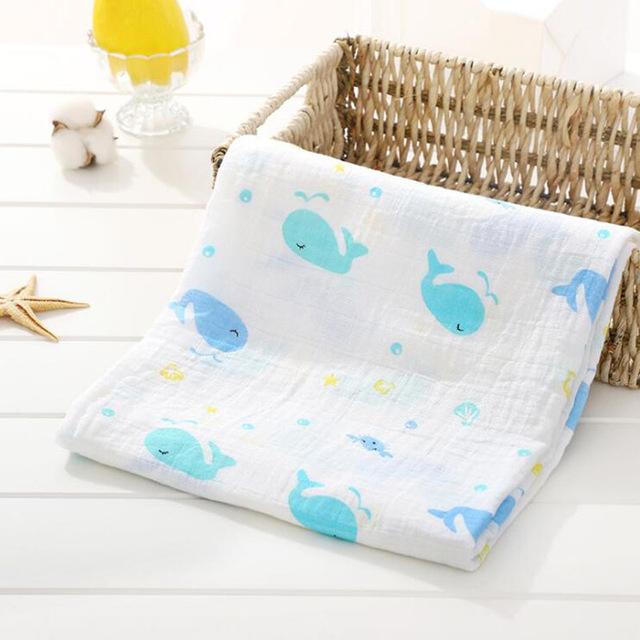 Toallas de algod n muselina para beb para Reci n Nacido mantas de beb Toalla de 21.jpg 640x640 21