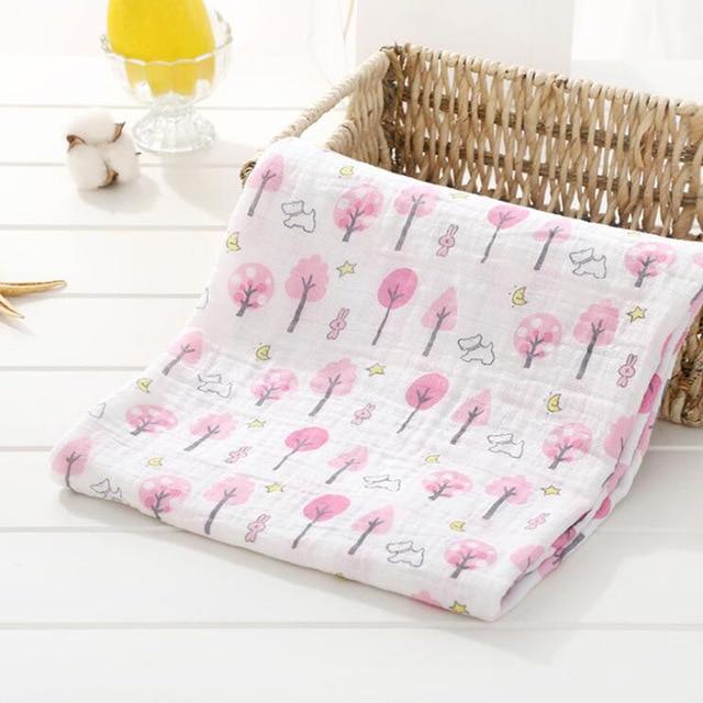Toallas de algod n muselina para beb para Reci n Nacido mantas de beb Toalla de 23.jpg 640x640 23