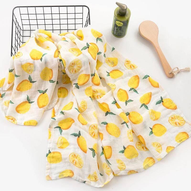 Toallas de algod n muselina para beb para Reci n Nacido mantas de beb Toalla de 4