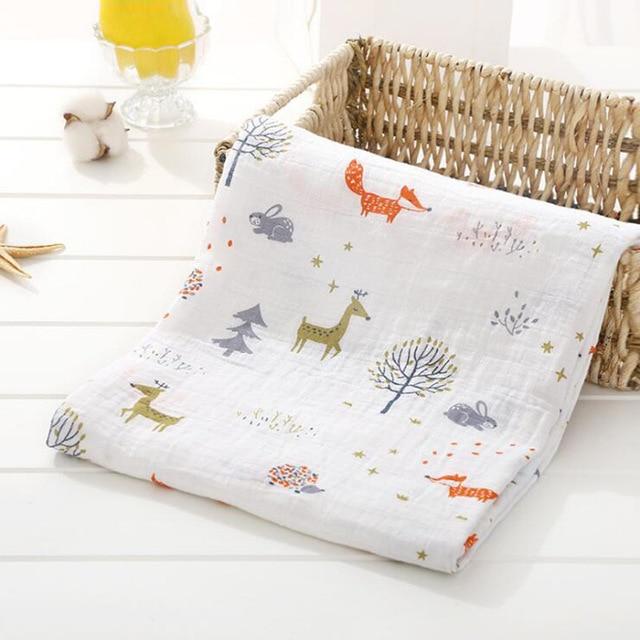 Toallas de algod n muselina para beb para Reci n Nacido mantas de beb Toalla de 9.jpg 640x640 9