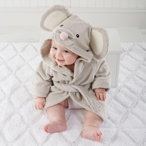 albornoz para bebe de animales