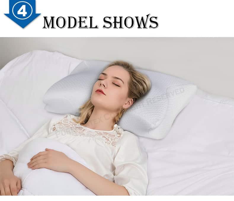 almohada plagocefalia de latex 3